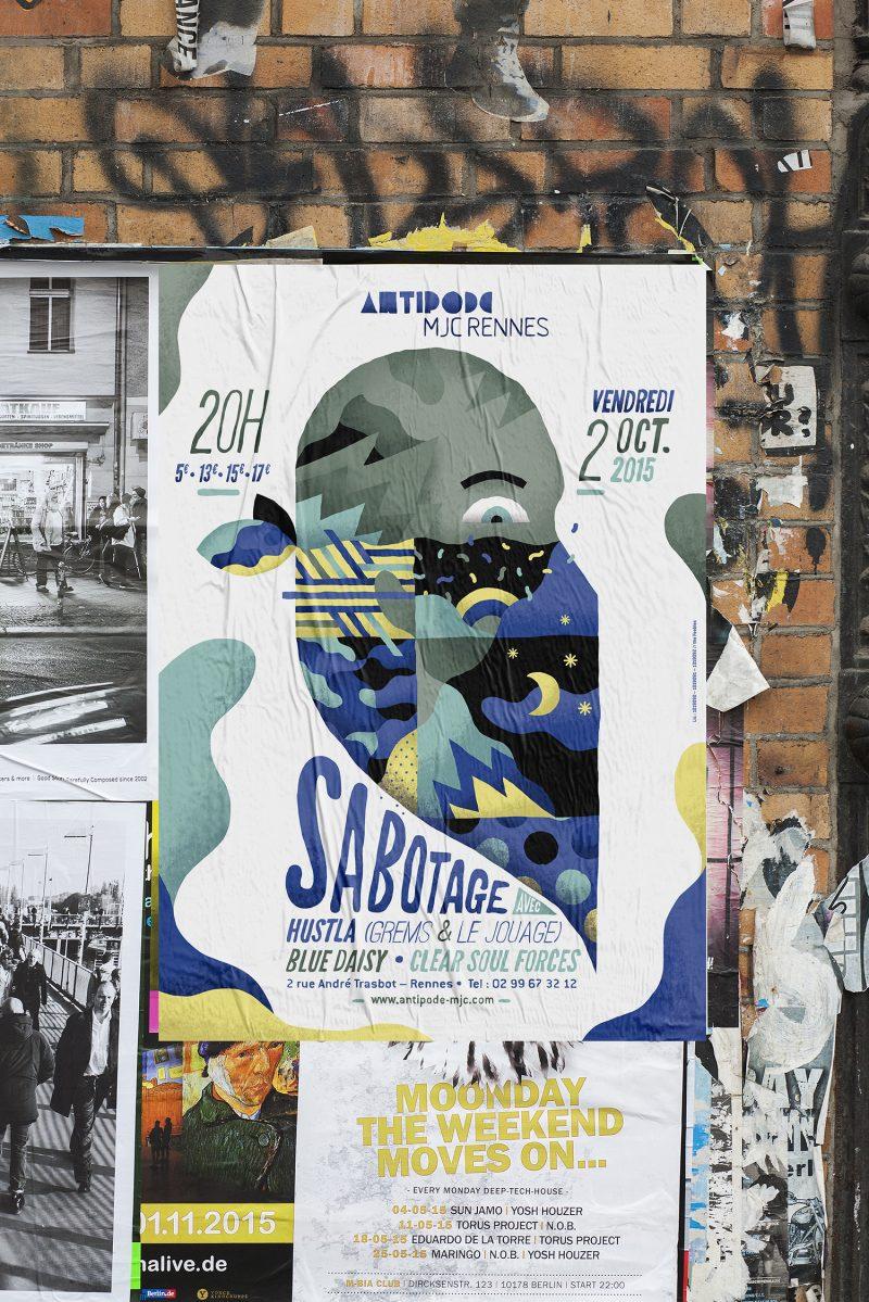 Antipode_Sabotage_affiche
